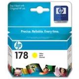 Оригинальный картридж HP CB320HE жёлтый картридж №178