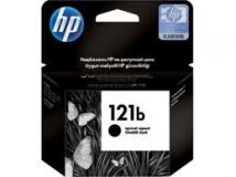 Оригинальный картридж HP CC636HE простой чёрный картридж №121b