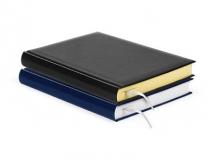 Ежедневник недатированный черный,синий (FORPUS)