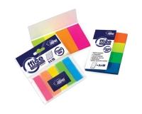Самоклеющиеся индексы, 20х50мм, 4 цвета, пластиковые, 160 листков