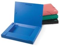 Папка-бокс для бумаг на резинках