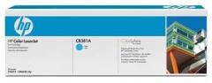 Оригинальный картридж HP CB381A голубой картридж