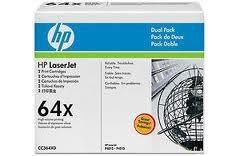 Оригинальный картридж HP CC364XD (Сдвоенная упаковка чёрных картр. CC364X)