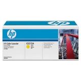 Оригинальный картридж HP CE272A жёлтый картридж