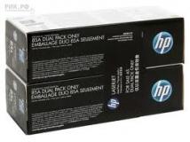 Оригинальный картридж HP CE285AF (Сдвоенная упаковка чёрных картр. CE285A)