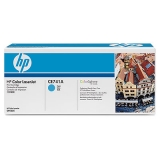 Оригинальный картридж HP CE741A голубой картридж