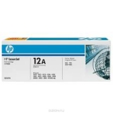 Оригинальный картридж HP Q2612AF (Сдвоенная упаковка чёрных картр. Q2612A)