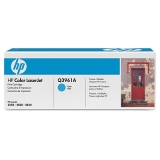 Оригинальный картридж HP Q3961A голубой картридж