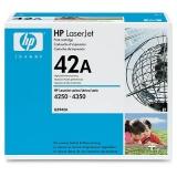 Оригинальный картридж HP Q5942A чёрный картридж