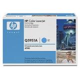 Оригинальный картридж HP Q5951A голубой картридж