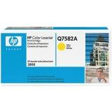 Оригинальный картридж HP Q7582A жёлтый картридж