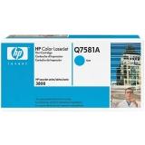 Оригинальный картридж HP Q7581A голубой картридж