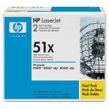 Оригинальный картридж HP Q7551XD (Сдвоенная упаковка чёрных картр. Q7551X)