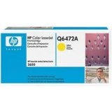 Оригинальный картридж HP Q6472A жёлтый картридж