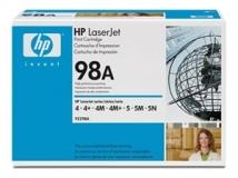 Оригинальный картридж HP 92298A чёрный картридж
