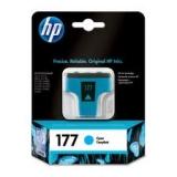 Оригинальный картридж HP  C8771HE голубой картридж №177