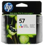 Оригинальный картридж HP  C6657AE трёхцветный картридж №57