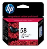 Оригинальный картридж HP  C6658AE фотокартридж №58