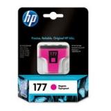 Оригинальный картридж HP  C8772HE пурпурный картридж №177