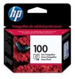 Оригинальный картридж HP C9368AE серый фотокартридж  №100