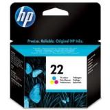 Оригинальный картридж HP C9352AE трёхцветный картридж №22