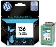 Оригинальный картридж HP C9361HE трёхцветный картридж №136