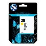 Оригинальный картридж HP C9417A жёлтый картридж №38