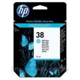 Оригинальный картридж HP C9418A светло-голубой картридж №38